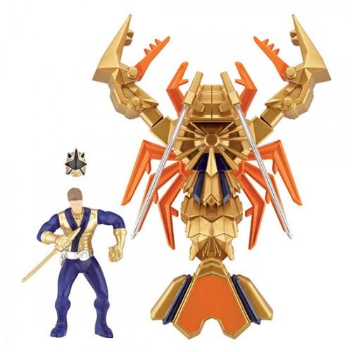 Power Ranger Samurai Clawzord & Samurai Ranger Antonio