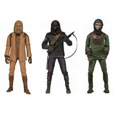 NECA Classic Planet of the Apes Set of 3