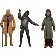 NECA Classic Planet of the Apes Series 2 : Set of 3