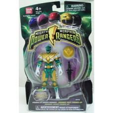 Power Ranger Mighty Morphin Power Up Green Ranger (2010)