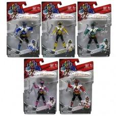 Power Ranger Samurai Super Mega Ranger Set of 5