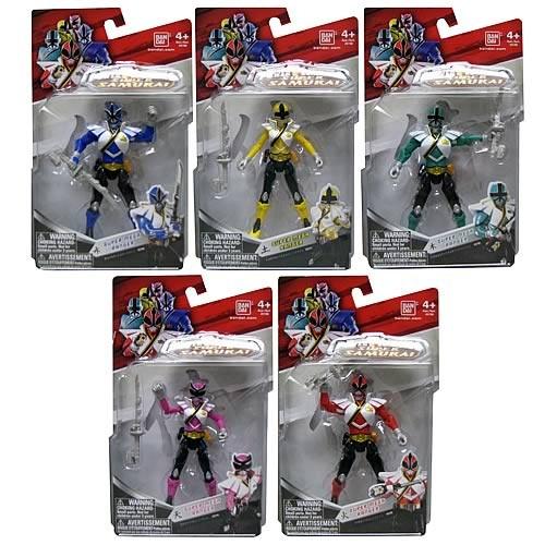 Power Rangers Samurai Ranger Forest Action Figure Figurki akcji i z filmów Zabawki