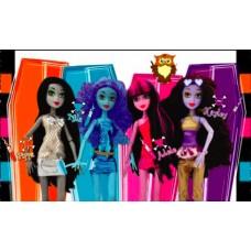 Midnight Magic Set of 4 Dolls