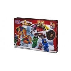 Mega Bloks Power Rangers Samurai Megazord Bundle w/bonus Ultra Rare Minifig
