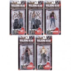 The Walking Dead TV Series 3 Set of 5